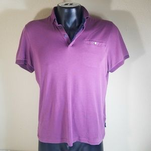 Ted Baker Men Short Sleeve Pale Purple T Shirt 4